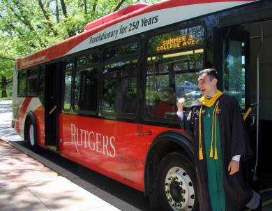Graduation from Rutgers University