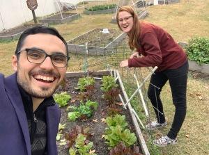 Picking good in Gandy's Garden